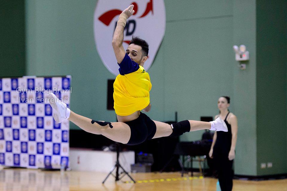 Lucas Santiago atleta da seleção brasileira adulta, em treinamento no Peru/ Foto: Ivan Carvalho
