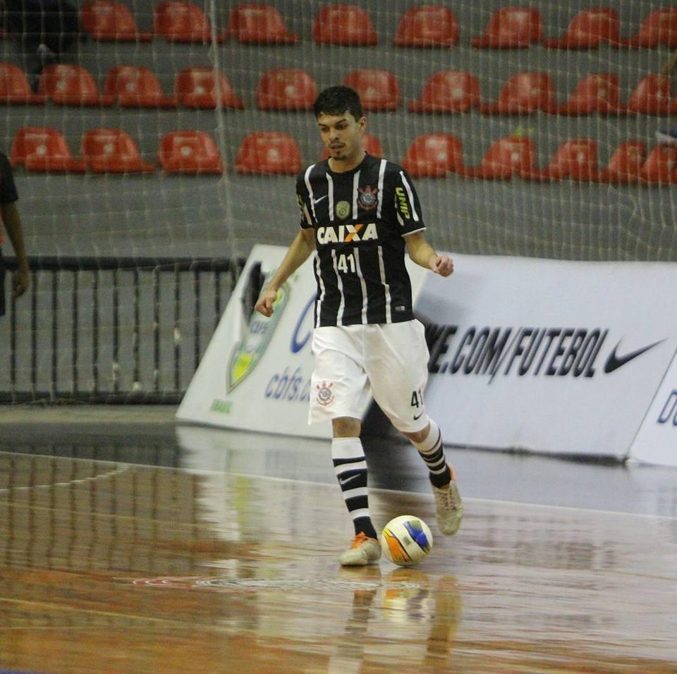 Matheus Rodrigues atleta do Corinthians marcou 2 gols na estreia do Brasil/ Foto: Reprodução Internet