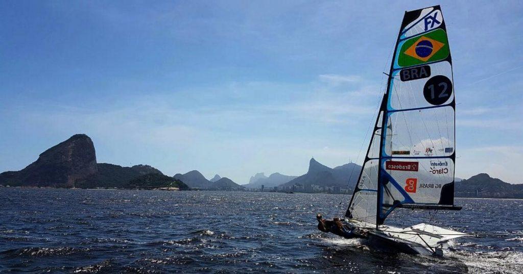 Campeãs olímpicas velejam pela primeira vez após os Jogos Rio 2016/ Foto: Divulgação