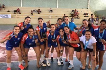 Equipe feminina de Handebol de Patos de Minas, conquistou o bronze
