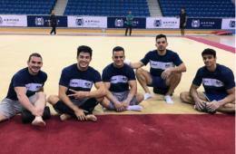 Atletas da ginástica Artística do Brasil