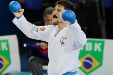 Karateca Rafael Nascimento