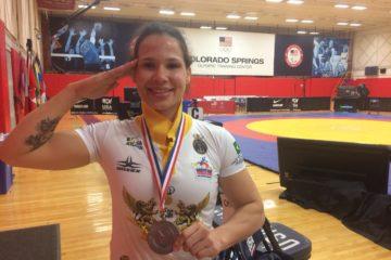 Lais Nunes conquista medalha para Wrestling brasileiro