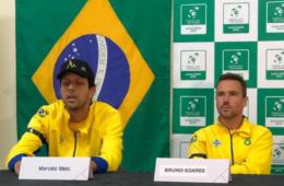 Dupla brasileira na Copa Davis