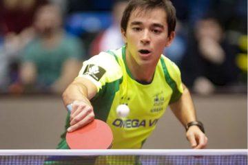 Hugo Calderano é campeão da Copa Pan-Americana