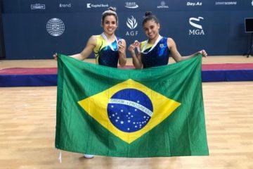 Brasil é bronze na Copa do Mundo de Trampolim Sincronizado