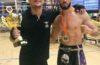 Fabiano Mineiro é campeão da Copa do Mundo de Kickboxing, em Amsterdã