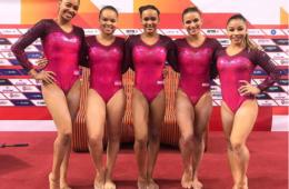 Brasil avança à final na qualificação da Ginástica Artística Feminina