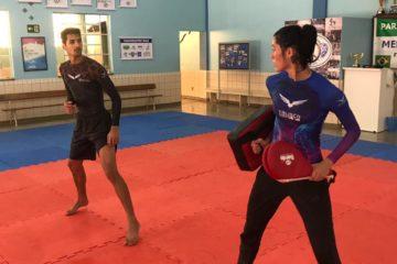 Talisca e Netinho, disputam Open de Marrocos visando o Mundial de Taekwondo