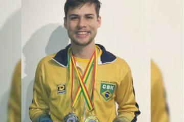 Rafael Nascimento é ouro e prata no Sul-Americano