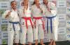 Pódio do Kata sênior no Campeonato Baiano 2019