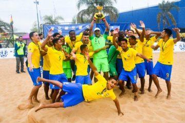 Brasil é campeão da Liga Sul-Americana de Beach Soccer