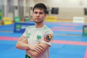 Rafael Nascimento disputa Karate1 Serie A, no Chile