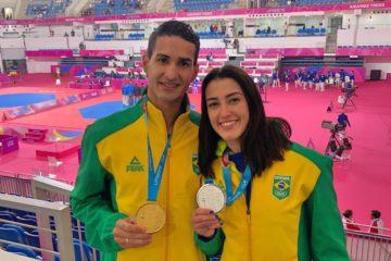 Talisca Reis e Netinho Marques, competem em Las Vegas