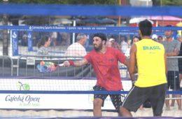 Alex em ação no ITF Caiobá
