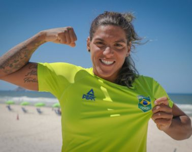 Ana Marcela representará o Time Brasil em Doha