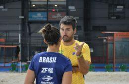 Alex Mingozzi técnico do Brasil